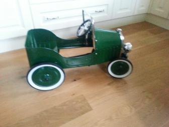 Vintage Children's Pedal Car