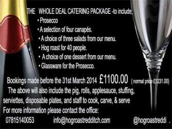 Hog Roast & BBQ Event Caterers
