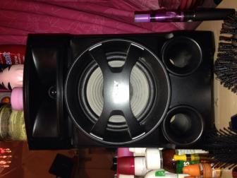 Sony iPod stereo hifi.