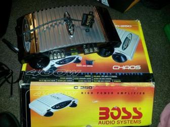 Boss 400W Amplifier