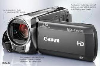 Cannon hd camcorder LEGRIA HFR306