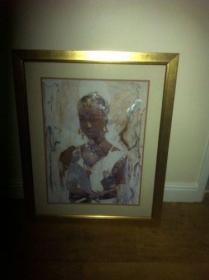 Picture of african lady