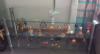 Tv clear glass stand. fit up to 50inch
