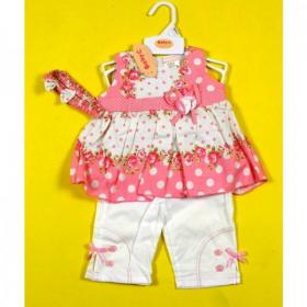 baby girls clothes set 3 piece set ,