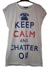 Girls keep calm top
