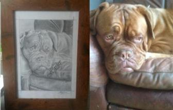 High quality hand drawn Celeb/Family/Pet Portraits in Graphite From £20 !!!