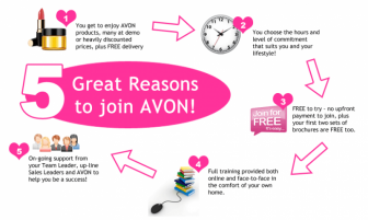 WANTED: AVON REPRESENTATIVES & SALES LEADERS IN THE SOUTH WALES AREA