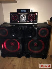LG X-Boom CM9730 dj stereo unit hifi