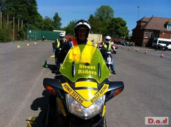 MOTORCYCLE MOTORBIKE SCOOTER CBT COMPULSORY BASIC TRAINING DAY IN BROWNHILLS WS8