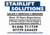 Acorn Stairlifts Cardiff  £795 01446 711739 South Wales Stairlift