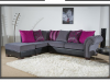 CORNER GROUP GREY/PINK £899 MASSIVE SALE FOR 2 WEEKS ONLY ENDS 14TH MAY 1/3rd OFF EVERYTHING IN STO