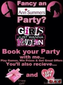 ANN SUMMERS REPS WANTED