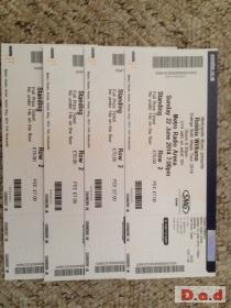 Robbie Williams Tickets 22nd June