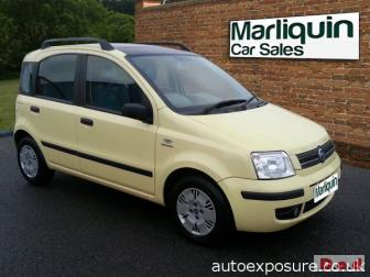 2004 04 FIAT PANDA 1.2 Dynamic 5 Door Hatchback
