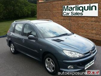 2006 06 PEUGEOT 206 1.4 Verve 5 Door Estate