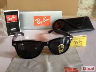 RAYBAN WAYFEVERS IN BLACK - BRAND NEW IN BOX - BARGAIN AT ONLY £15