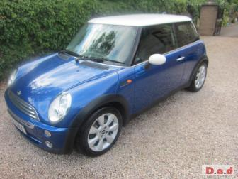 PART LEATHER !...MINI HATCH COOPER 2006 ..