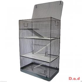 3 Tier Ferret Rat Chinchilla Rodent Cage