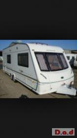 BESSACARR TWIN WHEEL CARAVAN