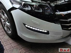 HONDA Crosstour 2010 DRL LED Daytime Running Lights turn light steering lamps LED-136HD