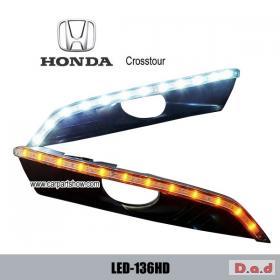 HONDA Crosstour 2010 DRL LED Daytime Running Lights turn light steering lamps LED-136HD