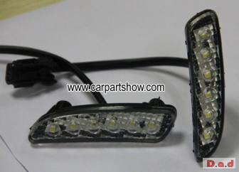 HONDA Odyssey DRL LED Daytime Running Lights Car headlight parts Fog lamp cover LED-159HD