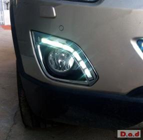 Opel Antara DRL LED Daytime Running Lights Car headlight parts Fog lamp cover LED-717PL