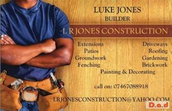 LRJONES CONSTRUCTION