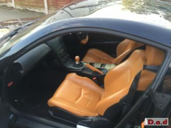 Nissan 350 Z 3.5 V6 Black with sports leather,full service histroy,MOT april 2015,tax may 2015