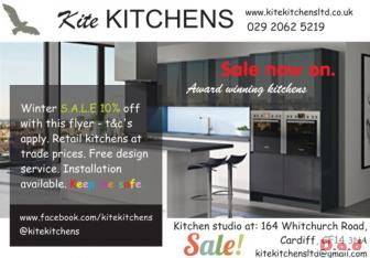 S.A.L.E - Kite Kitchens winter sale on now.