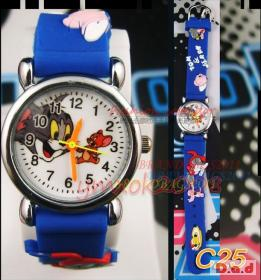 Childs' Blue Tom and Jerry Watch