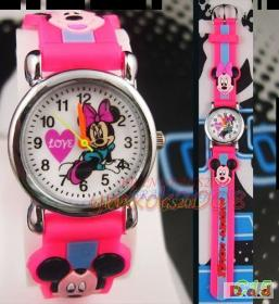 Childs' Pink Minnie Mouse Watch