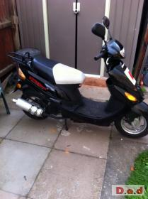 50cc direct bike - 64 plate good condition - only £350 ONO