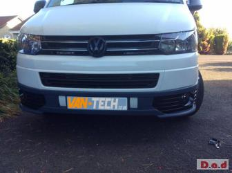 SPECIAL OFFER WINTER SALE!!! VW Transporter T5 Van front bumper spoiler ONLY £250!!
