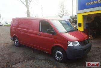 For Sale: Volkswagen Transporter T5 Van Red 2004 2.5 LWB