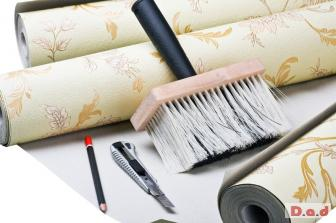 Reliable wallpapering services in London