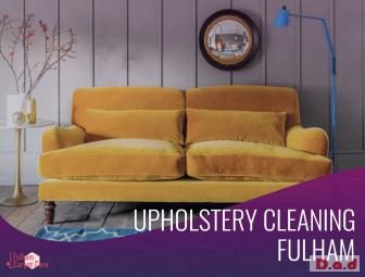 Professional Upholstery Cleaning Service in Fulham